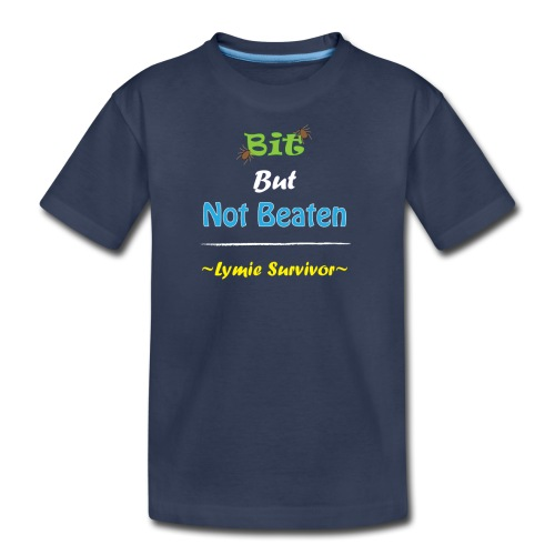 Bit But Not Beaten Lymie - Kids' Premium T-Shirt
