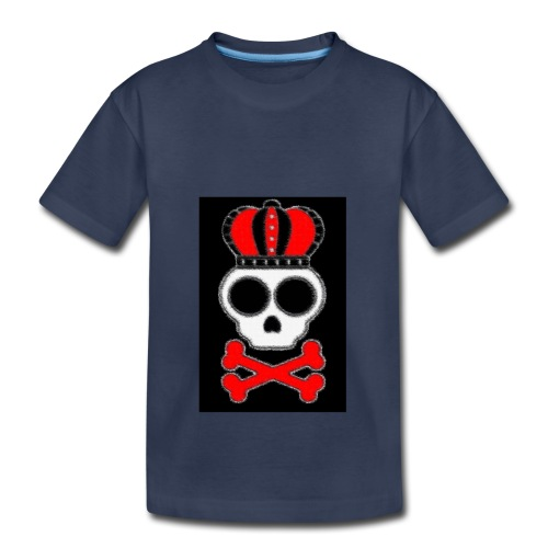 new skull t shirt - Kids' Premium T-Shirt