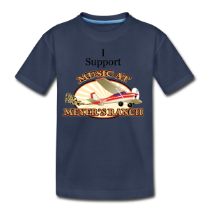I Support - Music at Meyer's Ranch - Kids' Premium T-Shirt