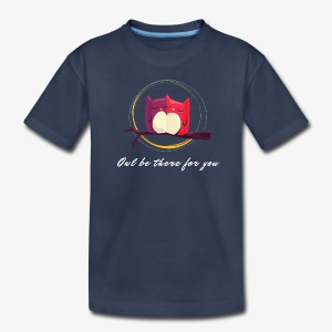Owls Date - Kids' Premium T-Shirt