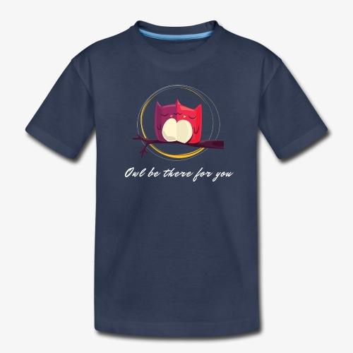 Owls Date - Kids' Premium T-Shirt
