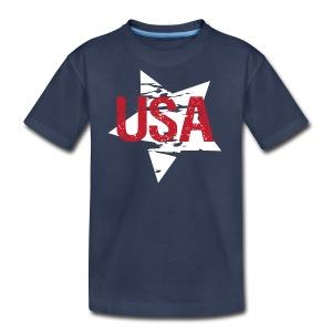 USA! - A stylish 4th July collection - Kids' Premium T-Shirt