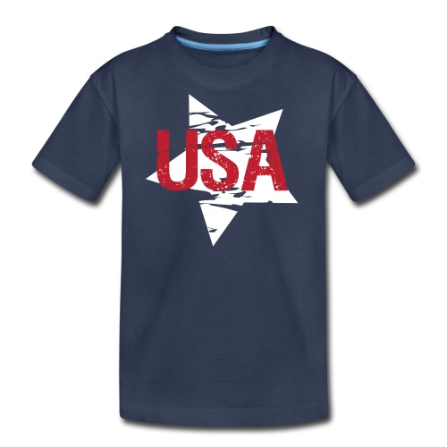 USA! - A stylish 4th July collection - Kids' Premium T-Shirt