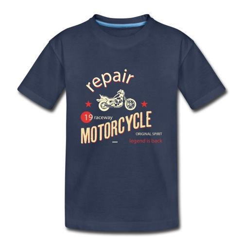 Motorcycle Repair - Kids' Premium T-Shirt