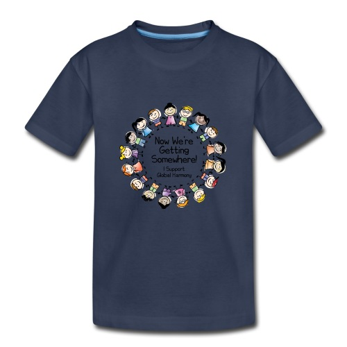 TShirtHarmonyFull by You'll Wear Me Out - Kids' Premium T-Shirt