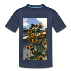sunflower shirt - Kids' Premium T-Shirt