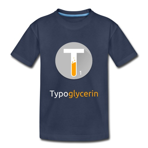 Typoglycerin Logo Ecofriendly T-Shirt - Kids' Premium T-Shirt