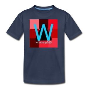 Whatisup365's logo 2014-2015 - Kids' Premium T-Shirt