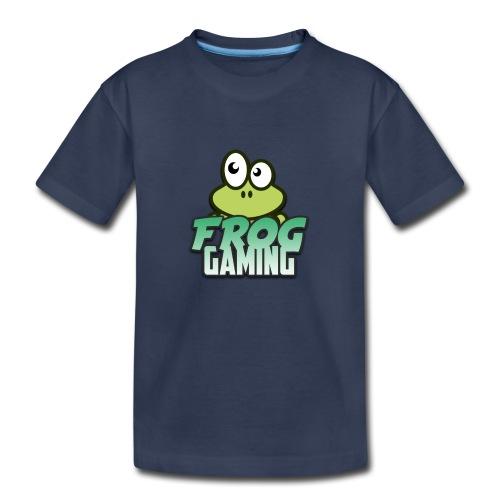 Frog Gaming Logo Transparent - Kids' Premium T-Shirt