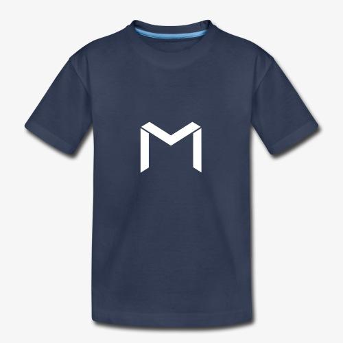 mavro logo white - Kids' Premium T-Shirt