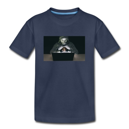 The Official Anonymus Logo - Kids' Premium T-Shirt