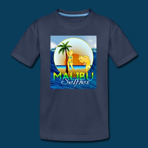 Malibu Selfies - Kids' Premium T-Shirt