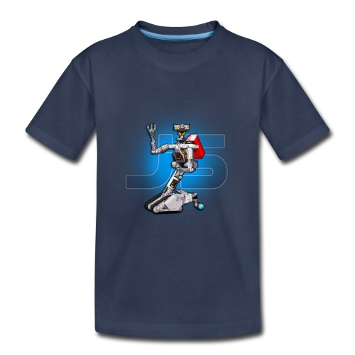 J5 Retro Robot by XLRobots - Kids' Premium T-Shirt