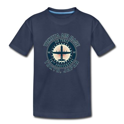 Yokota Air Base 70th Anniversary Design - Kids' Premium T-Shirt