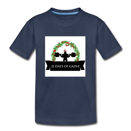 21 Days of Gains - Kids' Premium T-Shirt