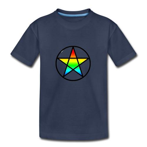 Official Iridescent Tee-Shirt // Men's // White - Kids' Premium T-Shirt