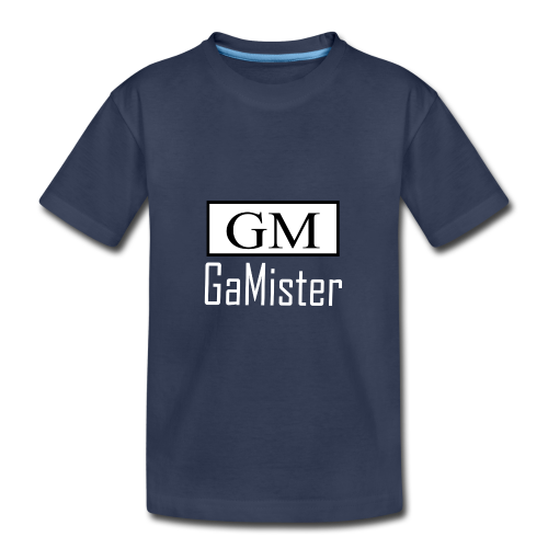 gamister_shirt_design_1_back - Kids' Premium T-Shirt