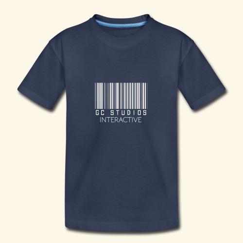 GCSTUDIOSINTERACTIVE WHITE LOGO - Kids' Premium T-Shirt