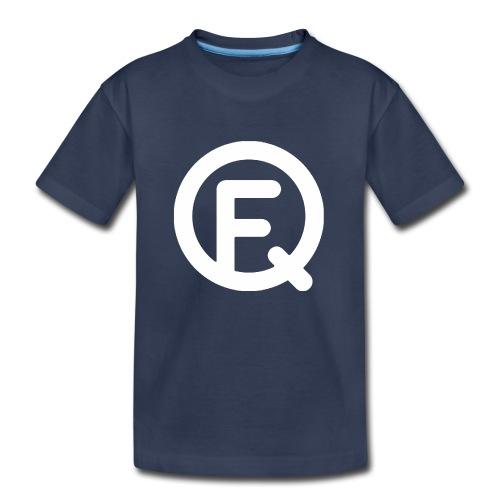 Fq White Logo - Kids' Premium T-Shirt