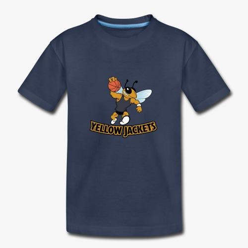 Yellow Jacket Basketball - Kids' Premium T-Shirt