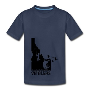 idaho hunting and fishing vets - Kids' Premium T-Shirt