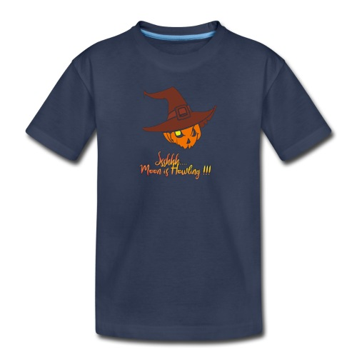 Halloween - Moon is howling - Kids' Premium T-Shirt