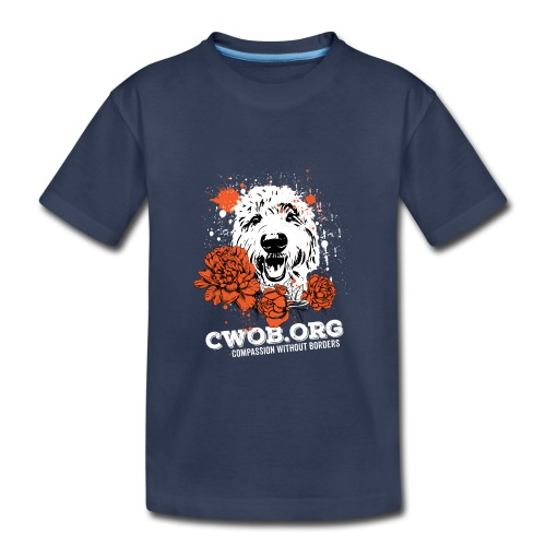 Compassion Without Borders - Kids' Premium T-Shirt