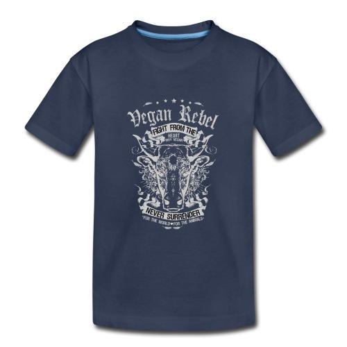 Vegan Rebel - Kids' Premium T-Shirt