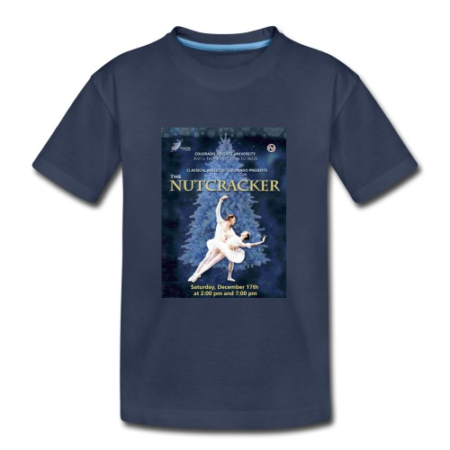 CBC Nutcracker Product - Kids' Premium T-Shirt