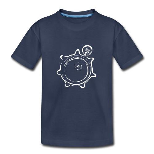 Athlete Engineers Stopwatch - White - Kids' Premium T-Shirt