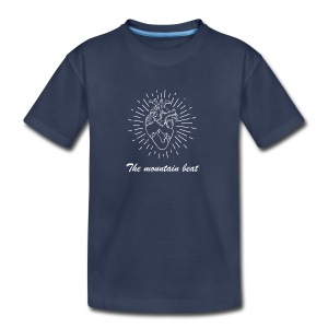 Adventure - The Mountain Beat T-shirts & Products - Kids' Premium T-Shirt