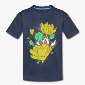 Floral harmony - Kids' Premium T-Shirt