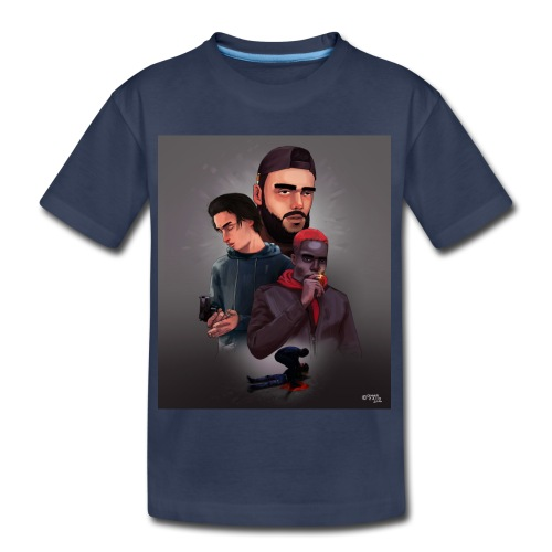 Pnl naha baby onizuka - Kids' Premium T-Shirt