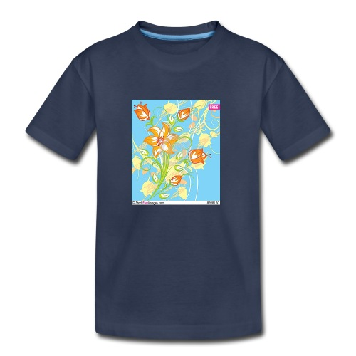 flowers67 - Kids' Premium T-Shirt