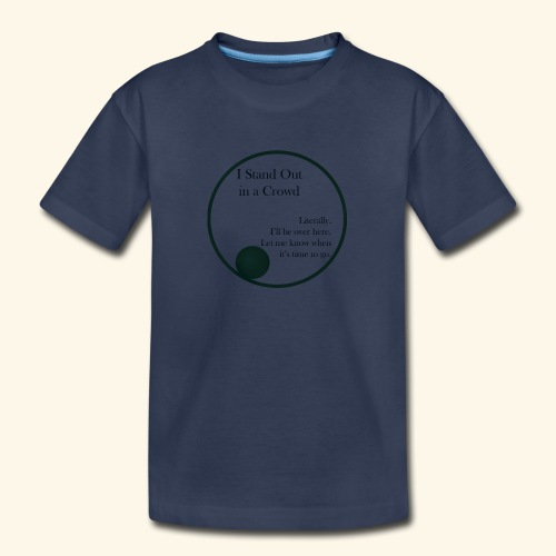Introverts Stand Out - Kids' Premium T-Shirt
