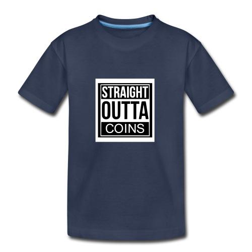 OUTTA COINS - Kids' Premium T-Shirt