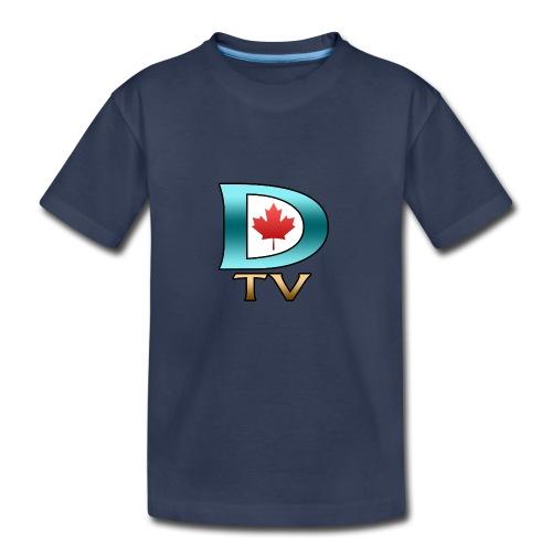 Dolynny TV Logo - Kids' Premium T-Shirt