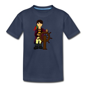 Alex the Great - Pirate - Kids' Premium T-Shirt