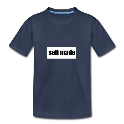self made tee - Kids' Premium T-Shirt