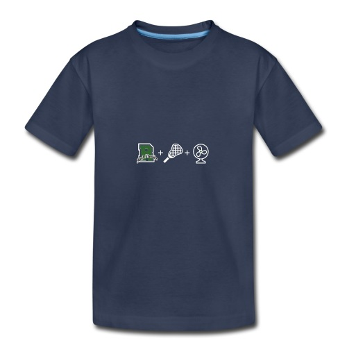 Ridge Lax Fan Reverse - Kids' Premium T-Shirt