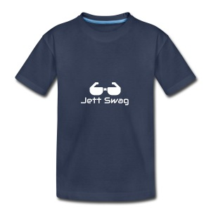 Jett Swag Sun Glasses White - Kids' Premium T-Shirt
