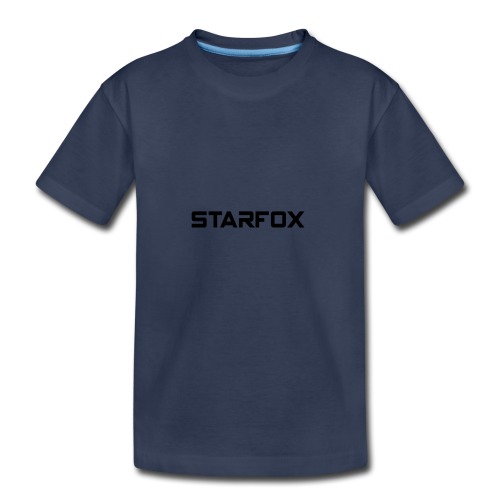 STARFOX Text - Kids' Premium T-Shirt