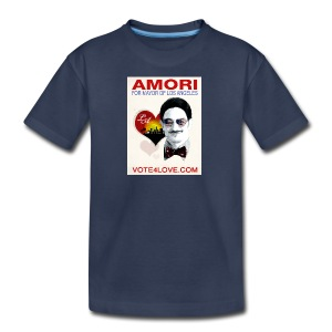 Amori for Mayor of Los Angeles eco friendly shirt - Kids' Premium T-Shirt