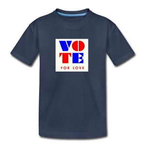 vote4love-sample - Kids' Premium T-Shirt
