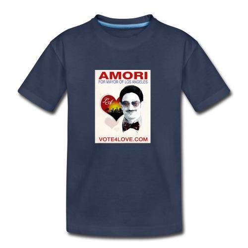Amori for Mayor of Los Angeles eco friendly shirt - Kids' Premium T-Shirt