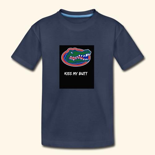Gators kiss my butt - Kids' Premium T-Shirt