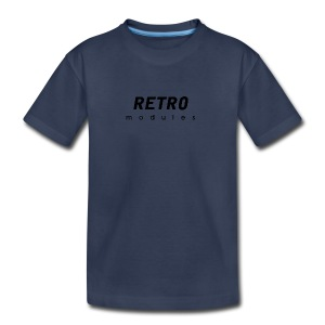 Retro Modules - sans frame - Kids' Premium T-Shirt