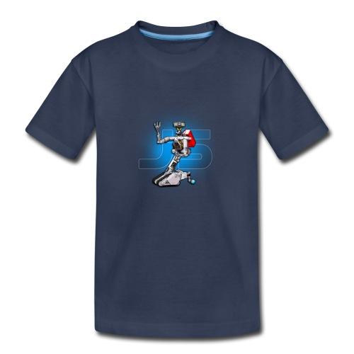 J5 Retro Robot by XLRobots - Kids' Premium T-Shirt