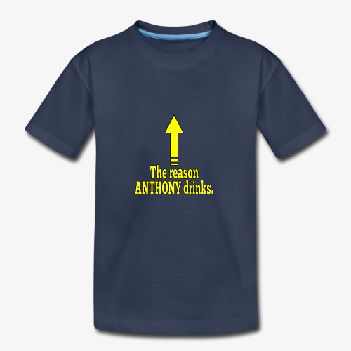 Anthony Drinks - Kids' Premium T-Shirt