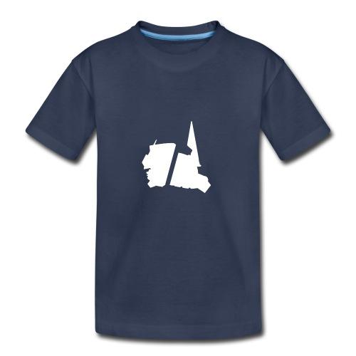 GBA_icon_white - Kids' Premium T-Shirt
